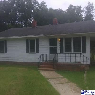 Hartsville Single Family Home For Sale: 1015 E Carolina Ave