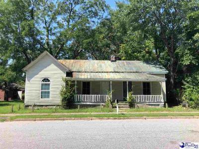 Bennettsville Single Family Home For Sale: 206 Murchison Street