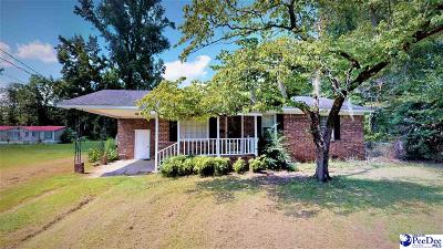 Kingstree Single Family Home For Sale: 192 Oakland Drive
