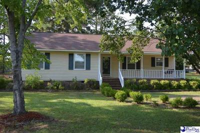 Hartsville Single Family Home Uc/Show For Back Up: 1052 Wellington Drive