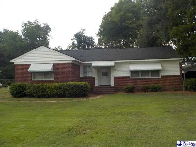 McColl SC Single Family Home For Sale: $69,000
