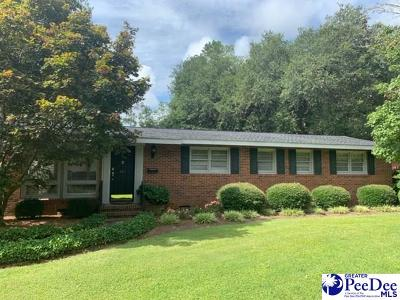 Kingstree Single Family Home For Sale: 111 Hilltop
