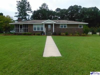 Hartsville Single Family Home New: 1733 Linden Ave