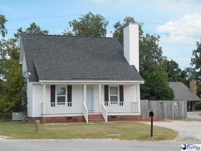 Florence SC Single Family Home For Sale: $154,900