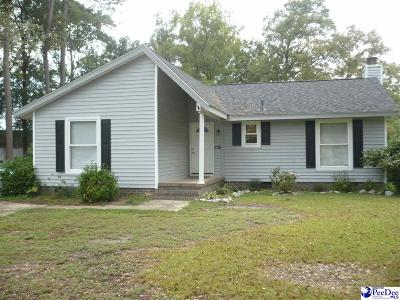 Florence SC Single Family Home New: $125,000