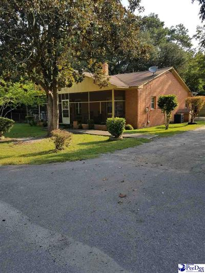 Hartsville Single Family Home New: 1215 Martin Luther King
