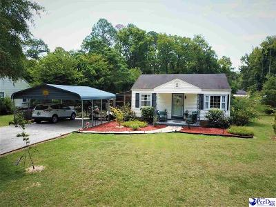 Hartsville Single Family Home For Sale: 923 Hannah Dr