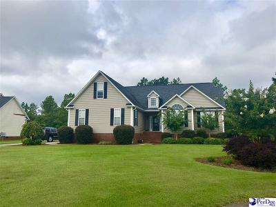 Hartsville Single Family Home New: 1583 Manchester Dr