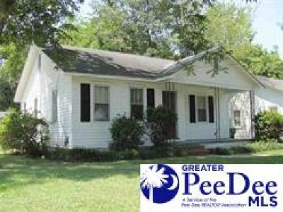Florence SC Single Family Home For Sale: $69,900