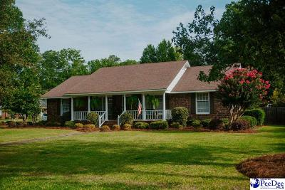 Florence SC Single Family Home Uc/Show For Back Up: $184,900