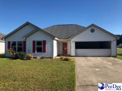Florence SC Single Family Home For Sale: $95,000