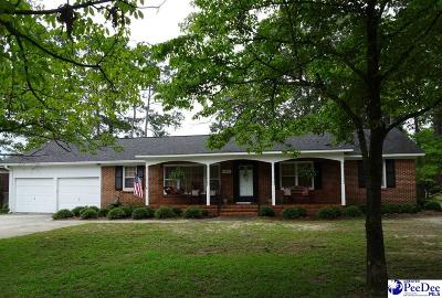 Hartsville Single Family Home Uc/Show For Back Up: 1813 W Carolina Avenue