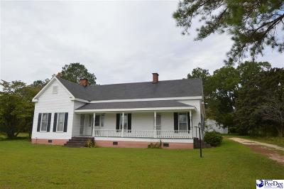 Hartsville Single Family Home Uc/Show For Back Up: 1540 High Point Road