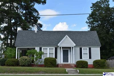 Pamplico Single Family Home For Sale: 204 S Walnut Street