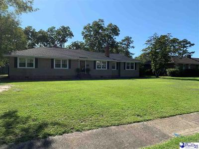 Hartsville Single Family Home For Sale: 216 E Richardson Circle