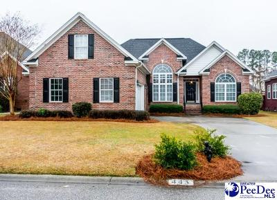 Florence Single Family Home For Sale: 445 Sterling Dr