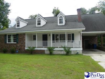 Kingstree Single Family Home For Sale: 208 Cooper St