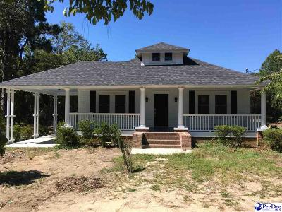 Hartsville Single Family Home For Sale: 3803 W Bobo Newsom Hwy