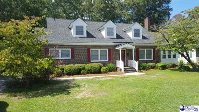 Dillon County Single Family Home Uc/Show For Back Up: 619 N Richardson Street