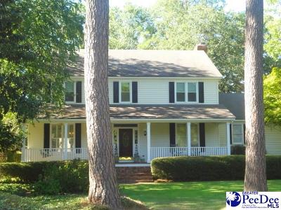 Florence Single Family Home For Sale: 601 N Lansdowne Drive