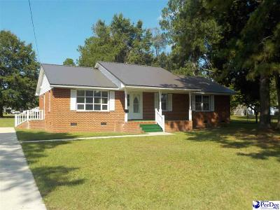 Bennettsville Single Family Home Uc/Show For Back Up: 222 Cypress Lane