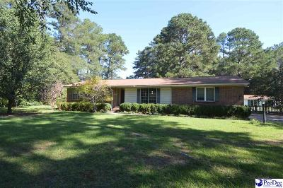 Hartsville Single Family Home For Sale: 513 Enterprise Drive