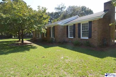 Hartsville Single Family Home For Sale: 900 14th Street