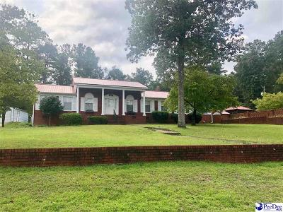 Hartsville Single Family Home For Sale: 1449 Marshy Banks Drive
