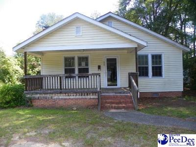 Kingstree Single Family Home For Sale: 426 Marion St