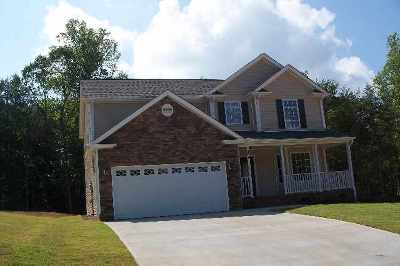 Inman Single Family Home For Sale: 152 Fagan Creek