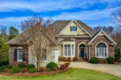 Spartanburg Single Family Home For Sale: 239 Horseshoe Lake Drive