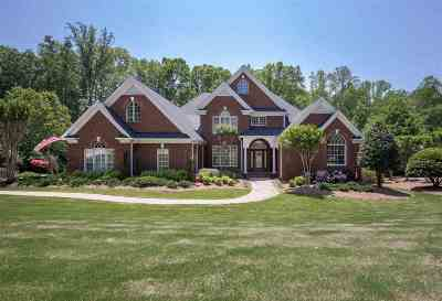 Spartanburg Single Family Home For Sale: 877 Inverness Circle