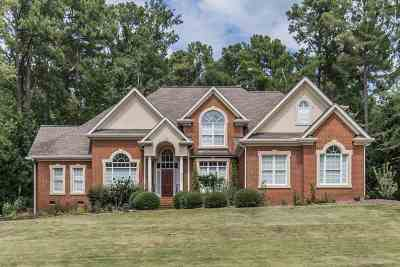 Spartanburg Single Family Home Contingent On Inspection: 876 Inverness Circle