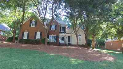 Spartanburg Single Family Home Contingent Upon Financing: 630 Innisbrook