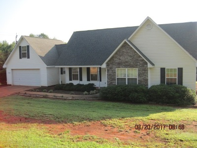 Spartanburg Single Family Home For Sale: 1360 Martin Road
