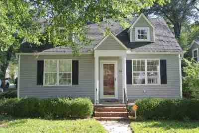 Spartanburg Single Family Home For Sale: 343 Mills Avenue
