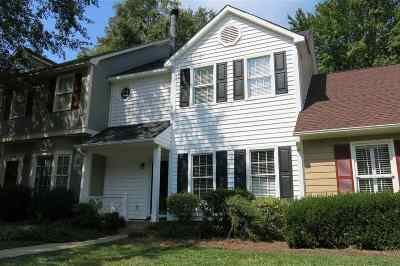 Spartanburg Single Family Home Contingent On Inspection: 218 Woodburn Club Ln