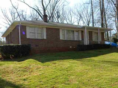 Spartanburg Single Family Home For Sale: 514 Pennwood Drive