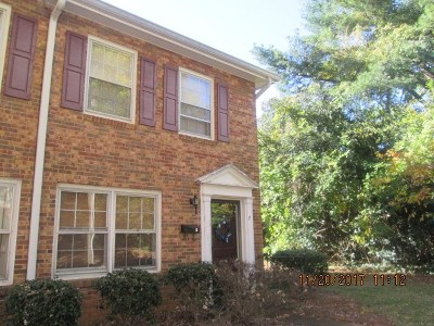 Spartanburg Condo/Townhouse For Sale: 1462 F Dover Rd