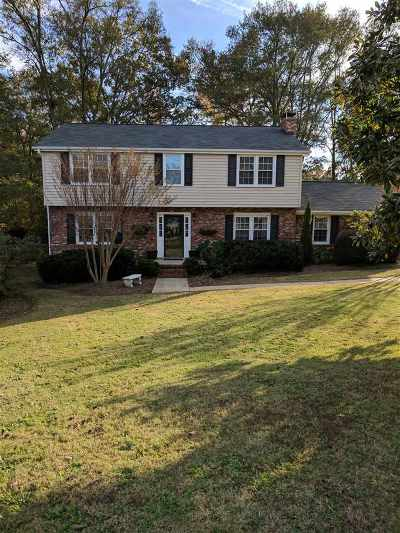 Spartanburg Single Family Home For Sale: 126 Woodbine Terrace