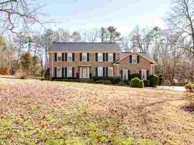 Spartanburg Single Family Home For Sale: 1708 Waterway Ct.