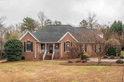 Spartanburg Single Family Home Contingent Upon Financing: 120 Dares Ferry Road