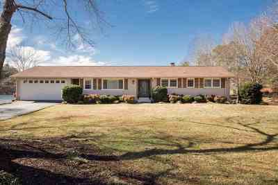 Spartanburg Single Family Home Contingent On Inspection: 455 Saranac Dr