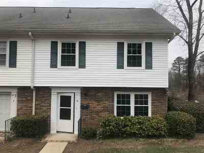 Spartanburg Condo/Townhouse For Sale: 1436 G Dover Rd