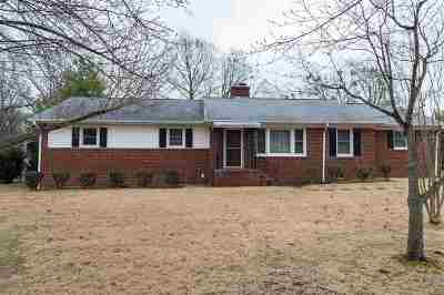 Spartanburg Single Family Home Contingent On Inspection: 229 Mohawk Drive