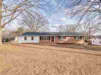 Spartanburg Single Family Home For Sale: 301 Woodley Rd