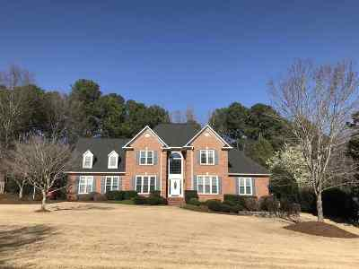 Spartanburg Single Family Home Contingent On Inspection: 90 Brandermill