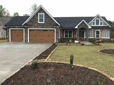 Spartanburg Single Family Home Contingent Upon Financing: 412 Twin Springs Dr