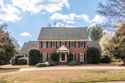 Spartanburg Single Family Home For Sale: 2 Cateswood Drive