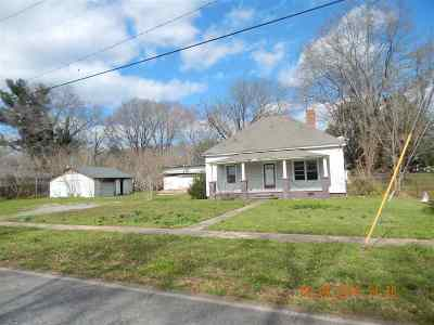 Greenville County, Spartanburg County Single Family Home For Sale: 933 Main Street